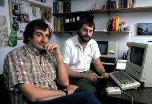 Douglas Adams and Steve Jobs